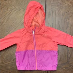 North face light rain jacket. 12m